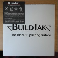 BUILDTAK 203 x 203 mm - rivestimento piano stampa 3D
