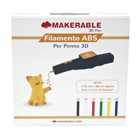 ABS MIX PACK 36 stick per YAYA 3D PEN