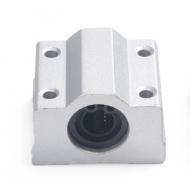 CUSCINETTO LINEARE PIATTO con supporto per barra 8mm - ID8 L.30 SC8UU