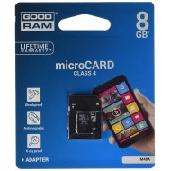 SDCARD 8 GB SDHC classe 4 - GoodRam