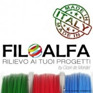 HIPS FILOALFA - bobina 700gr, 1.75mm, filamento stampa3d