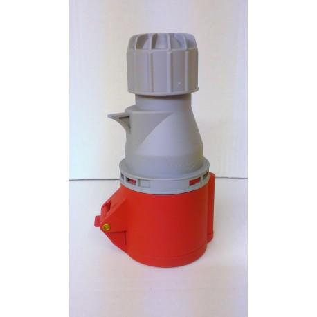 PRESA industriale IP44 32A - 4 POLI 3p+e / 5 POLI 3p+n+e