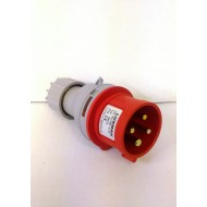 SPINA industriale TRIFASE IP44 16A / 3P+T 3P+N+T