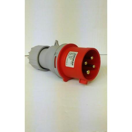 SPINA industriale IP44 32A - 4 POLI 3p+e / 5 POLI 3p+n+e