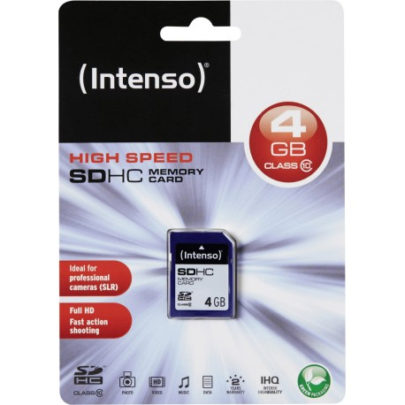 SD CARD 4 GB scheda di memoria