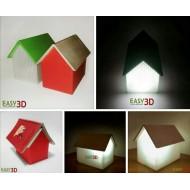 Lampada 3d SognaLibro