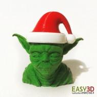 YODA Babbo Natale busto Star Wars