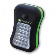 Lampada Led portatile con Gancio e Magnete 24+4 LED