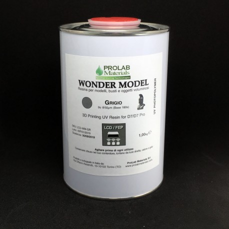 Wonder Model Rapid LCD resin by Prolab Materials