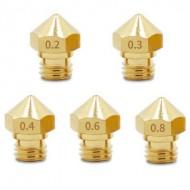 UGELLO Nozzle 0.2/0.3/0.4/0.5 stampante3d