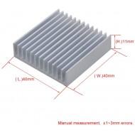 DISSIPATORE CALORE Alluminio 40x40x10