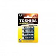 BATTERIE STILO AA Toshiba LR6 - blister x4