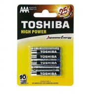 BATTERIE MINI STILO AAA Toshiba LR03 - blister x4
