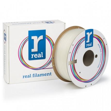 2,85mm PLA NEUTRO REAL FILAMENTS 1KG - filamento stampa 3d