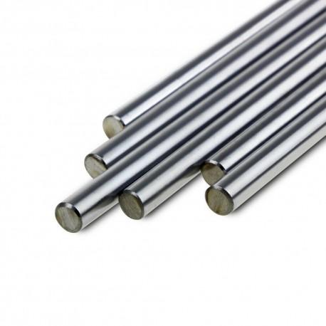 BARRA tonda acciaio inox movimenti lineari
