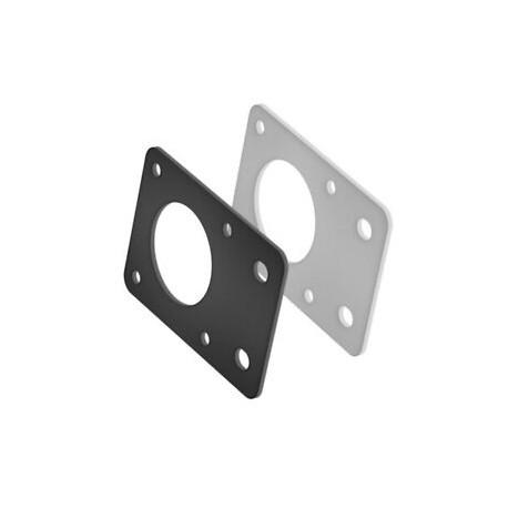 SUPPORTO alluminio per motore stepper 3d