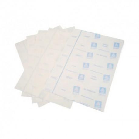 Confezione 5 fogli adesivi per stampa 3D