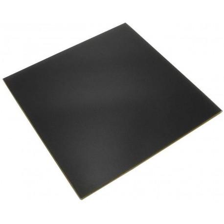 Adesivo tipo Buildtak 114x114 nero - rivestimento piatto 3d