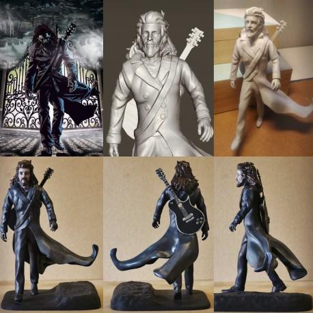 STATUINA 3D action figure minime statuetta personalizzata stampa 3d