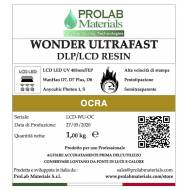 WONDER ULTRAFAST OCRA 500g - Resina LCD - Prolab Materials