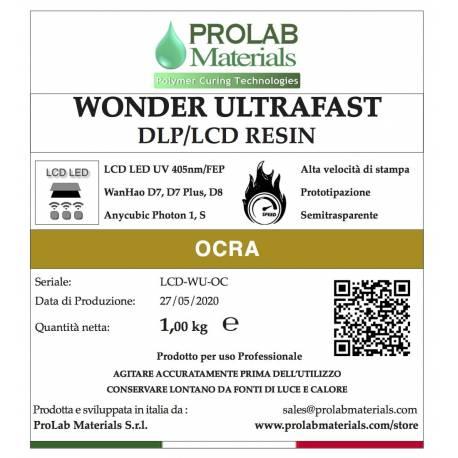 WONDER ULTRAFAST OCRA Resina 3d UV LCD 405nm e Tank film FEP Prolab Materials
